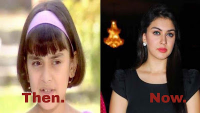 Bollywood Actress Hansika Motwani Child Photos HD Images