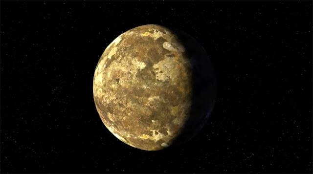 Ilustração artística de Kepler-90i