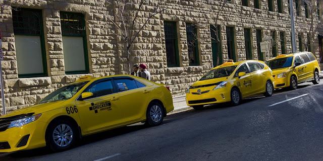 Táxi em Calgary