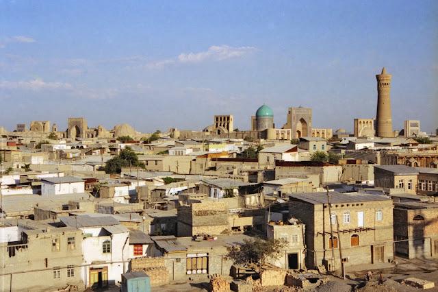 Ouzbékistan, Boukhara, Kaylan, © Louis Gigout, 1999
