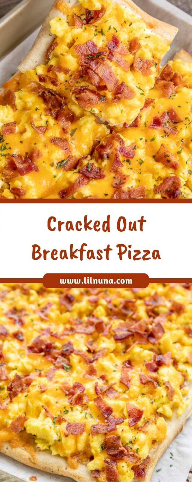 Cracked Out Breakfast Pizza