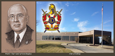 """Frank S. """"Dad"""" Land, 33°, GC. Founder of the Order of DeMolay. by Travis Simpkins"""