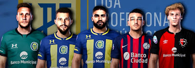 PES 2020 Faces Liga Argentina by Gordoumbanda
