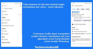 Insight Facebook Marketplace dan Jumlah Followers