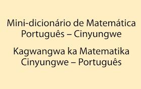 Ensino bilíngue Mini-dicionário de Matemática Português – Cinyungwe em pdf