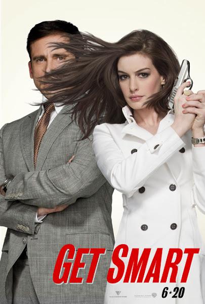 Poster of Get Smart 2008 Hindi 720p BRRip Dual Audio Full Movie Download