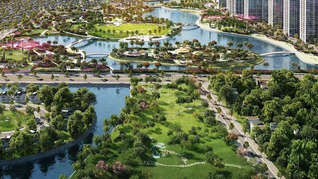 cong vien vincity grand park