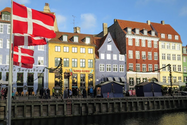 Copenhagen in November: Nyhavn