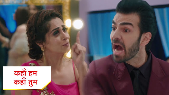 Big Dhamaka  : Rohit's attempt of love confession for Sonakshi goes wrong in Kahaan Hum Kahaan Tum