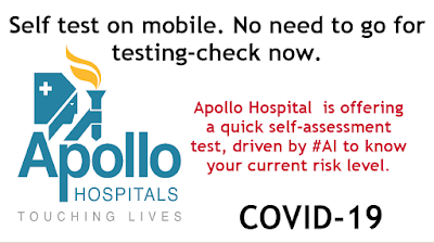 Apollo Hospital is offering a quick self assessment test