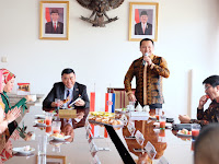 Dubes Sjahroedin dan Ridho Ficardo Kompak Promosikan Lampung di Kroasia