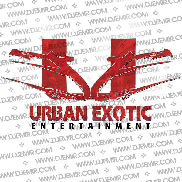 Urban Exotic Entertainment Logo Design Version 4