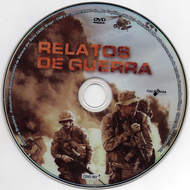 Label DVD Relatos de Guerra (Oficial)