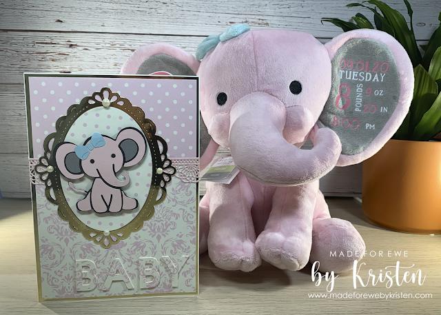 Baby Elephant Gift Set