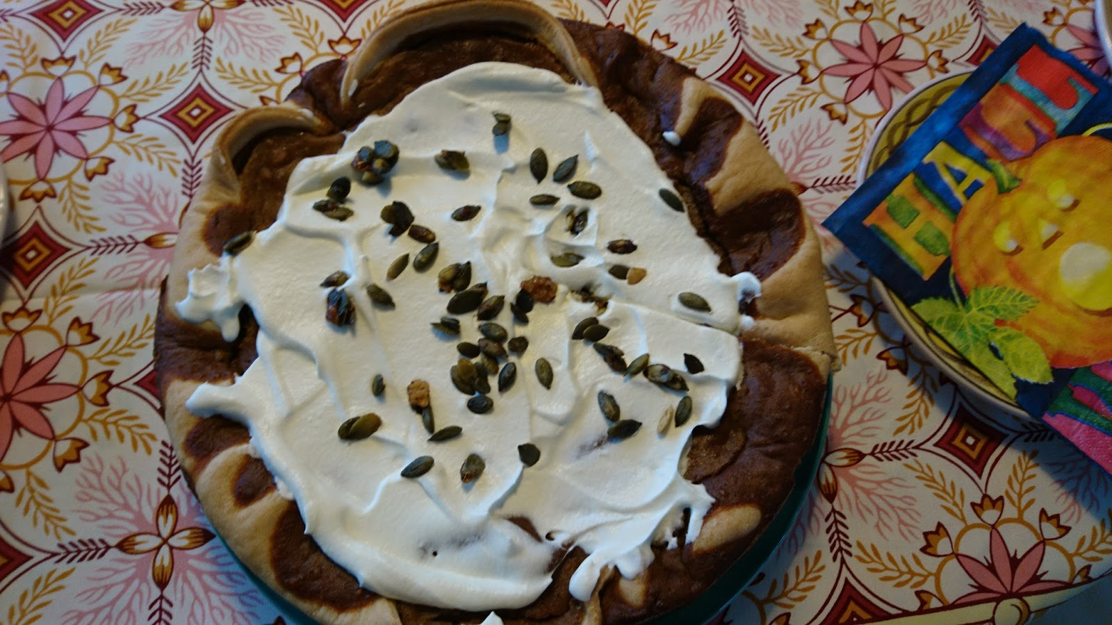 Kitchen of Kiki: Pumpkin pie with muscovado sugar