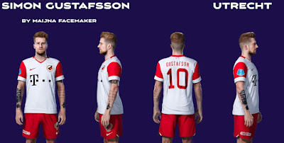 PES 2021 Faces Simon Gustafson by Maijna