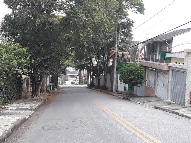 As ruas estão vazias...