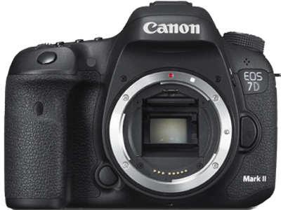 Canon EOS 7D Mark II DSLRダウンロードフルドライバー