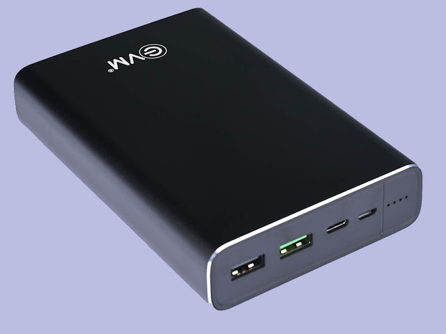 EVM Launches India's First Laptop Charging Power Bank