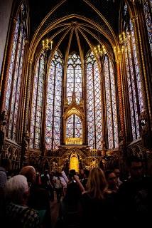 Frre tour París, Sainte chapelle