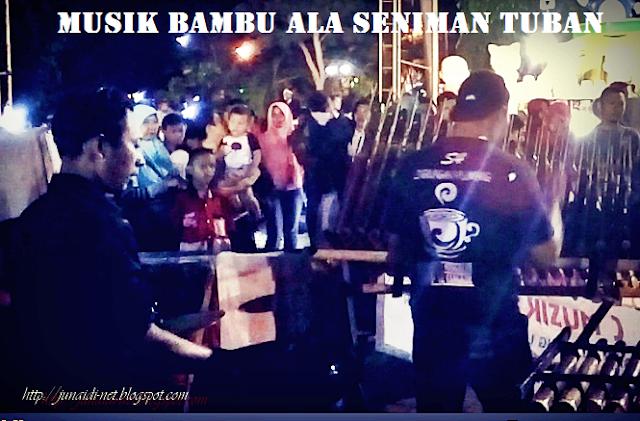 Ternyata Bukan Hanya Tongklek Saja, Inilah Musik Bambu Dari Tuban Yang Mantap Jaya Musiknya