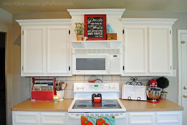 Kitchen Shelf Over Stove