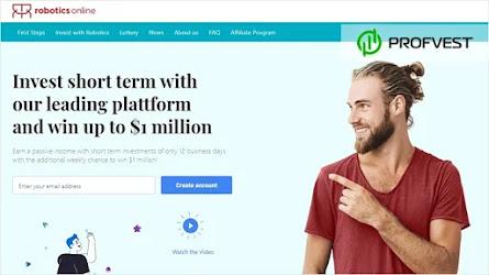 🥇Robotics-Online.net: обзор и отзывы [Кэшбэк 2,5% + Страховка 3200$]