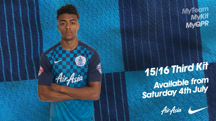 68f1e9f7d Whereas the new Nike Queens Park Rangers 2015-2016 Home and Away Kits  introduce ...