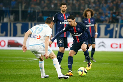 مباراة باريس سان جيرمان ومارسيليا مجانًا