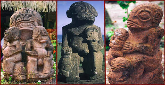 Ancient Statues In French Polynesia Remind Of An Unusual Extraterrestrial Race