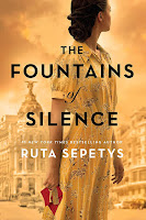 The Fountains of Silence by Ruta Sepetys, book cover and review