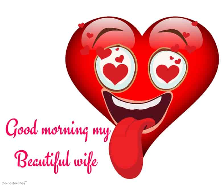 good morning my beautiful wife picture