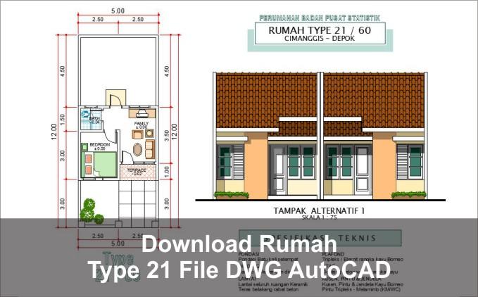 download rumah type 21 dwg autocad google drive