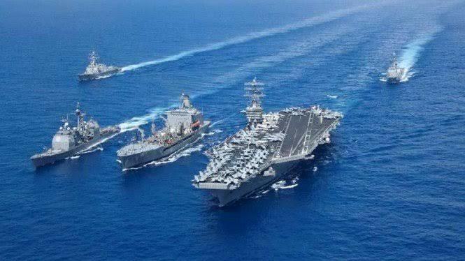 Muak dengan Kegilaan China, Amerika Kirim Dua Kapal Induk ke Pasifik