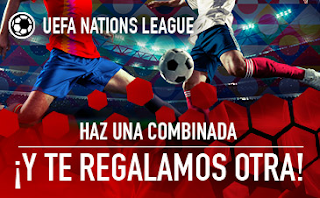 sportium Promo UEFA Nations League jornadas 5 y 6