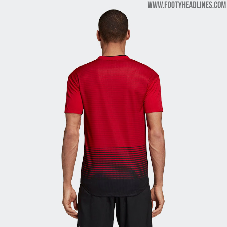 7a95ce1a4 Manchester United 18-19 Home Kit Revealed - Footy Headlines