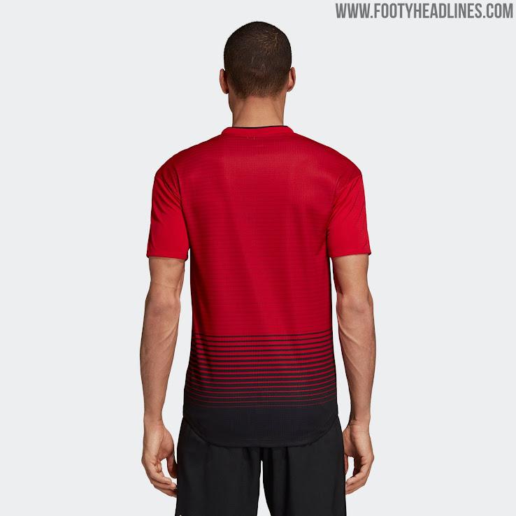 5c91590465c Manchester United 18-19 Home Kit Revealed - Footy Headlines