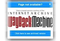 Pagina non trovata? come caricare link morti e siti offline