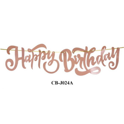 Bunting Garland HAPPY BIRTHDAY CB-J024A