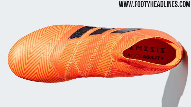 06bc71448d3 Huge Collar - Next-Gen Adidas Nemeziz 2018 World Cup Boots Released ...