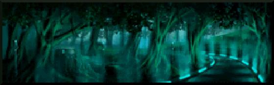 Infinite Space - Banner bosque