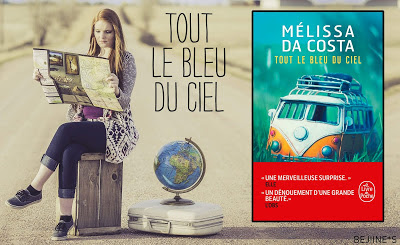 Blog PurpleRain Livre : Tout le bleu du ciel - Mélissa Da Costa