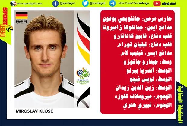 أفضل تشكيلة في كأس العالم 2006