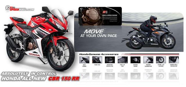 performa dan spesifikasi All New Honda CBR 150R