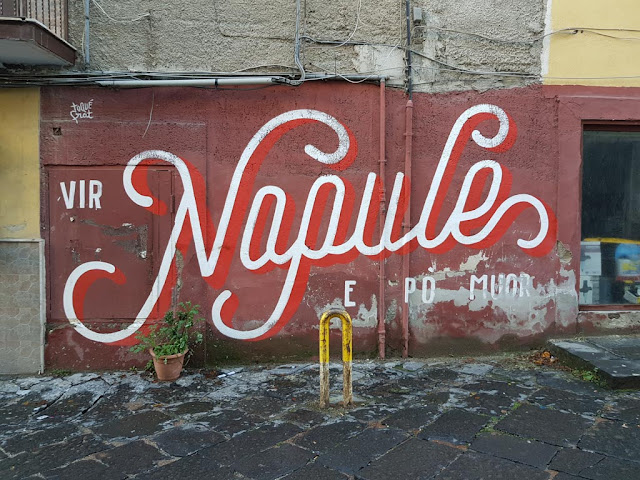 Murales Napule-Rione Sanità-Napoli