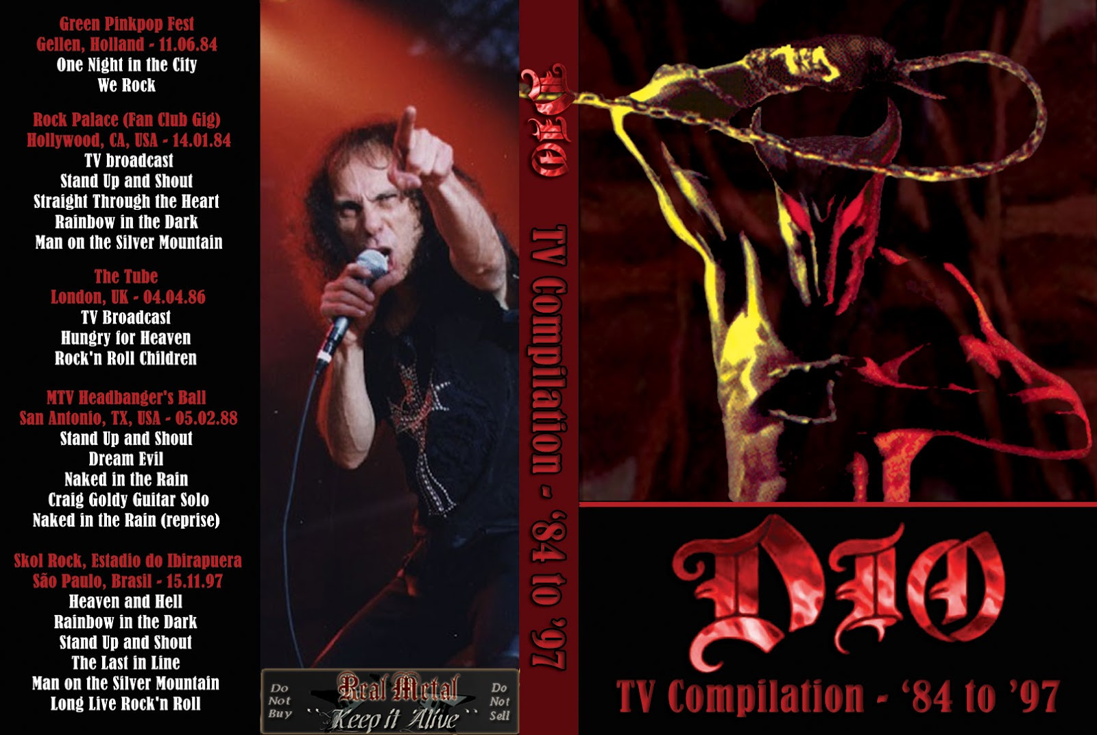 Dio - TV Compilation 1984-1997 DVD
