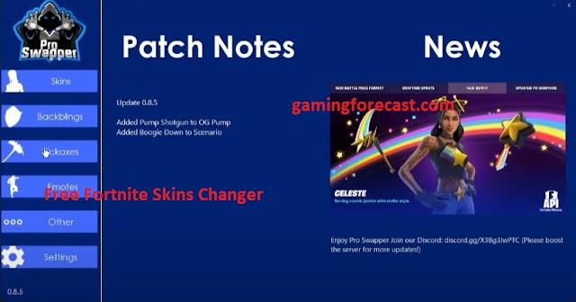 fortnite skins changer free download