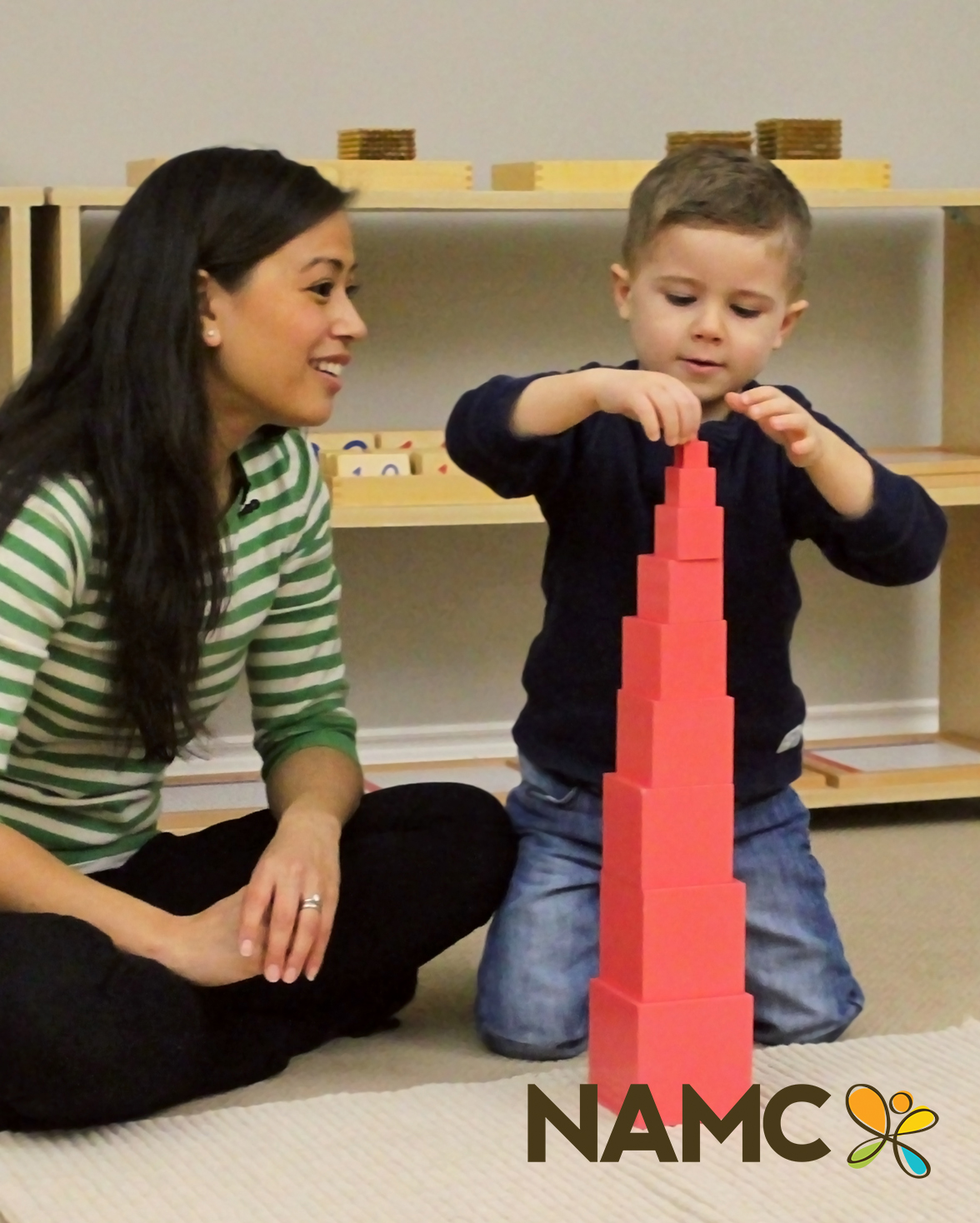 How Do Children Learn with the Pink Tower?