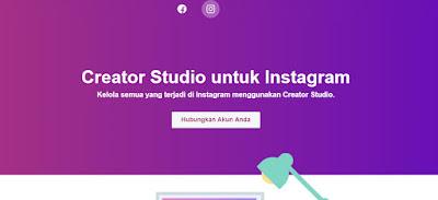 Menambahkan Instagram ke Creator Studio Facebook