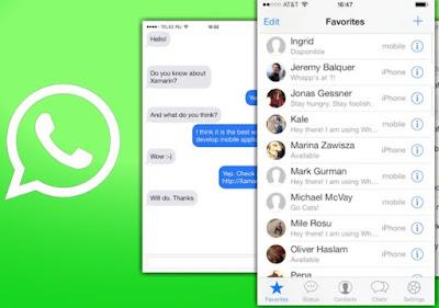 Aplikasi Download Tema Whatsapp iPhone